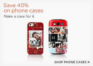 Save 40% on phone cases
