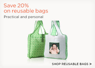 Save 20% on reusable bags