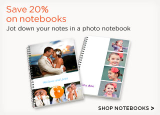 Save 20% on notebooks
