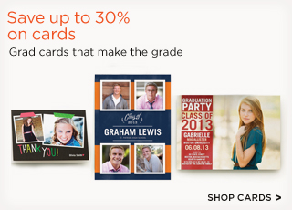 Save up to 30% on cards
