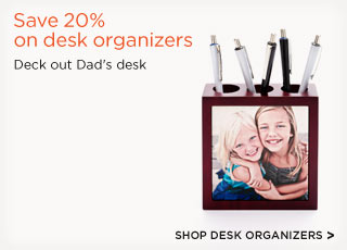 Save 20% on desk organizers