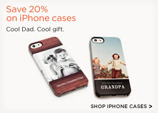 Save 20% on iPhone cases