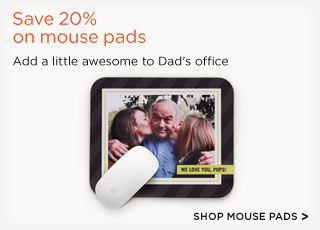 Save 20% on mouse pads