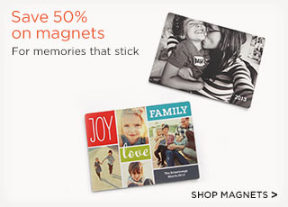 Save 50% on magnets