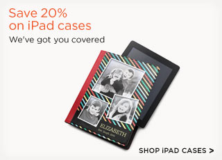 Save 20% on iPad cases
