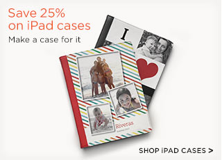 Save 25% on iPad cases