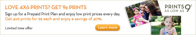 LOVE 4x6 PRINTS? GET 9 CENT PRINTS