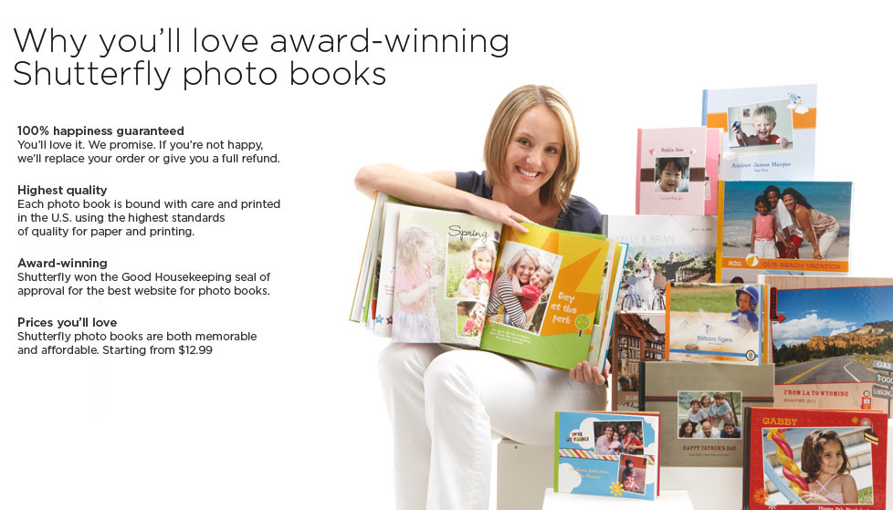 Why you'll love Shutterfly's award-winning photo books