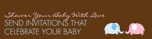 Send Invitations That Celebrate Your Baby
