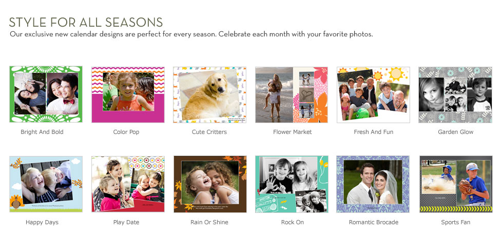 Personalized Wall Calender