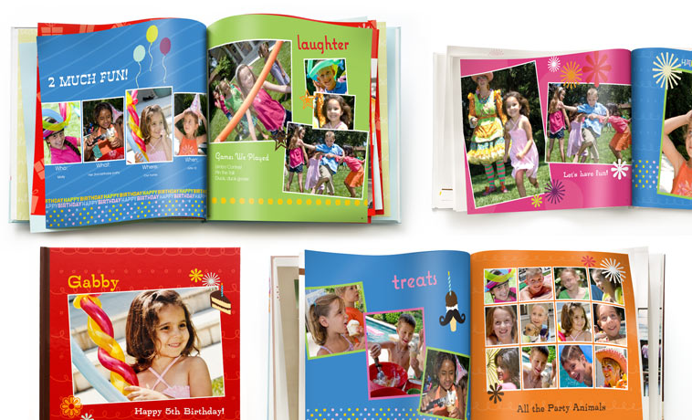 mother's day photo collage idea - Birthday Books