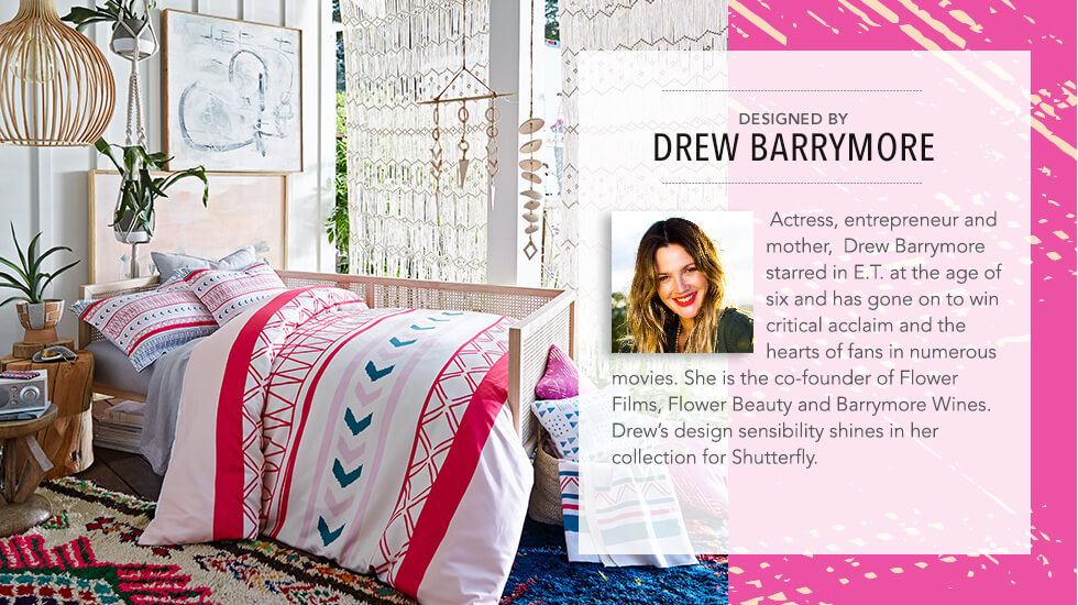 Designed by Drew Barrymore
