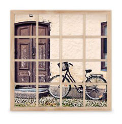 'Vintage Bike' Collage Frame created using a free image from the new Shutterfly Art Library 'Americana' collection