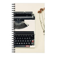 'Classic Typewriter' Notebook created using a free image from the new Shutterfly Art Library 'Americana' collection
