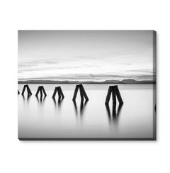 'Lake' Canvas Print created using a free image from the new Shutterfly Art Library 'Black & White' collection