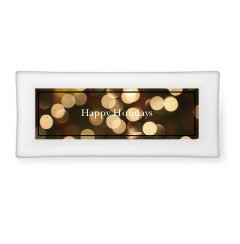 'Lights Bokeh' Catch All Tray created using a free image from the new Shutterfly Art Library 'Holiday' collection