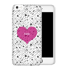 'Arrows and Hearts' iPhone Case created using a free image from the new Shutterfly Art Library 'Patterns & Florals' collection