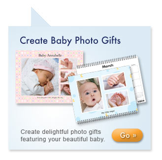 Create Baby Photo Gifts