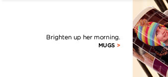 BRIGHTEN UP HER MORNING. MUGS.