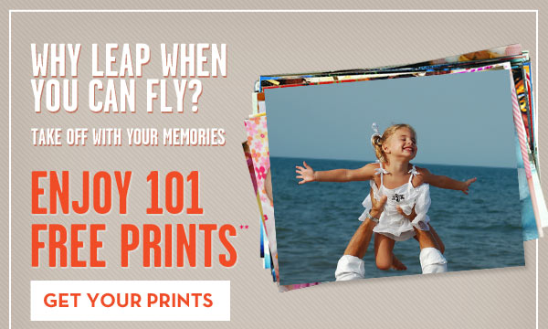 DON'T LET THE EXTRA DAY SLIP AWAY MAKE MORE MEMORIES – ENJOY 101 FREE PRINTS**