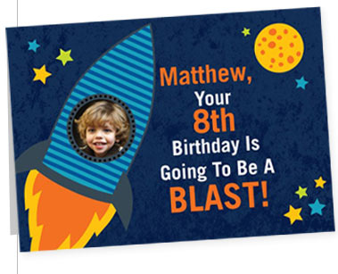 MATTTHEW, YOUR 8TH BIRTHDAY IS GOING TO BE A BLAST!