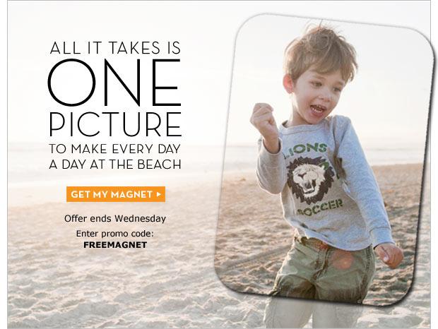 Get my magnet.  Enter promo code: FREEMAGNET
