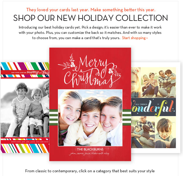 SHOP OUR NEW HOLIDAY COLLECTION