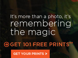 It's more than a photo, it's remembering the magic - GET 101 FREE PRINTS**