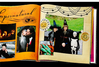 Turn a night of fright into a spooky photo book