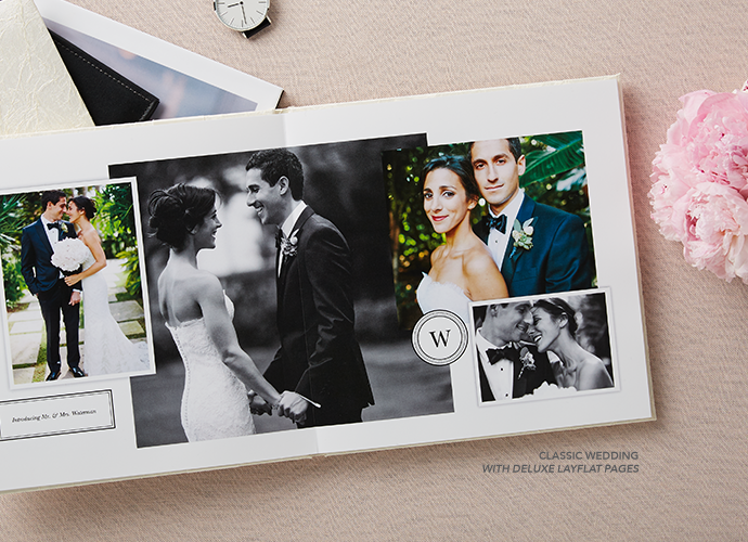 Classic Wedding With Deluxe Layflat Pages