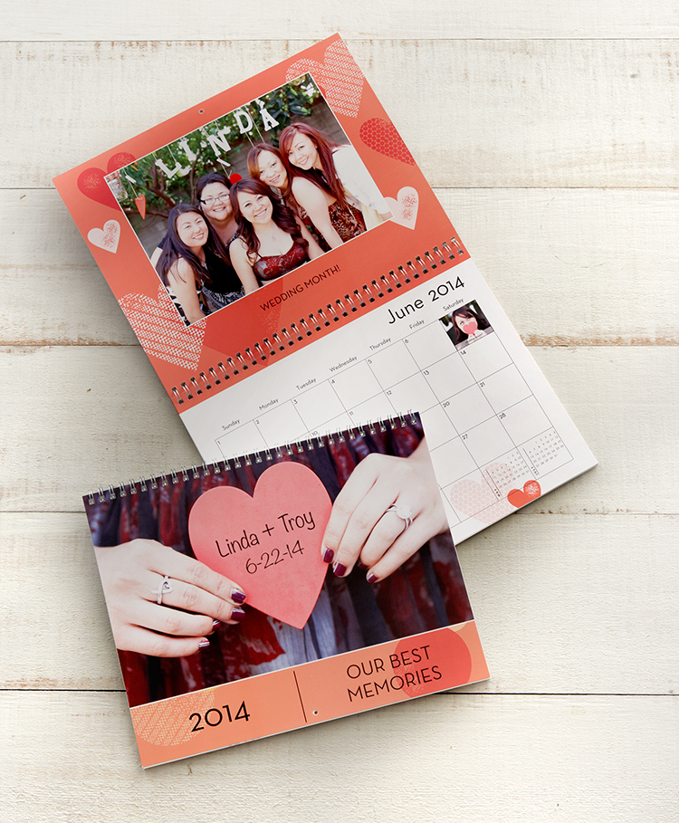 Shutterfly calendars make perfect gifts. Create 12 and 18 month custom photo calendars, featuring quality printing and designs.