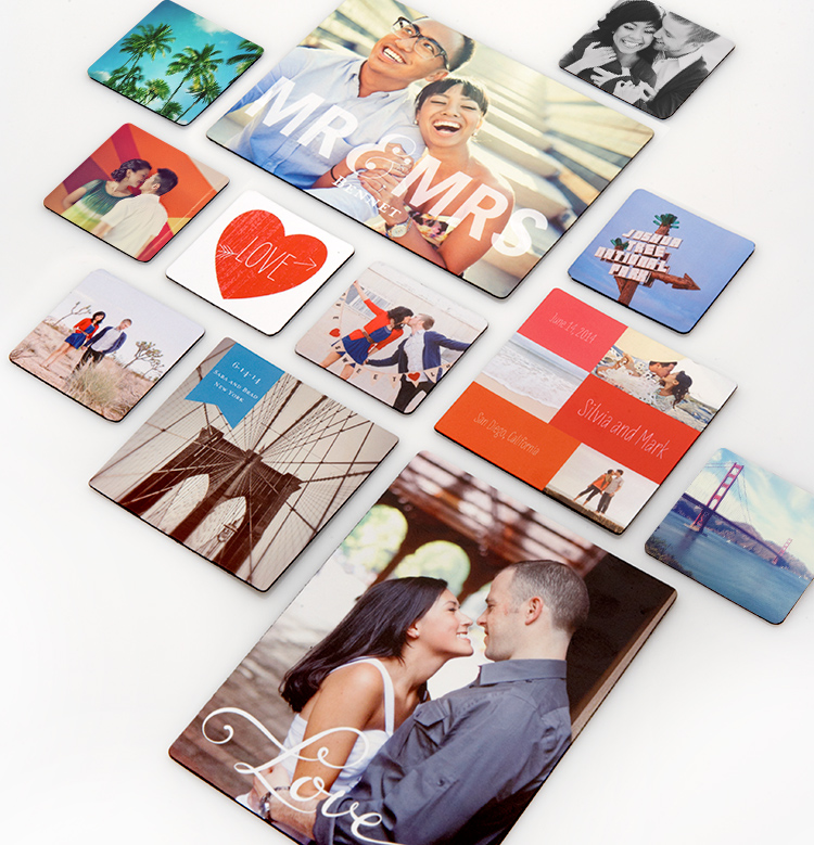 Custom Magnets by Shutterfly. Create a personalized magnet with your favorite photos to decorate your fridge or filing cabinet.