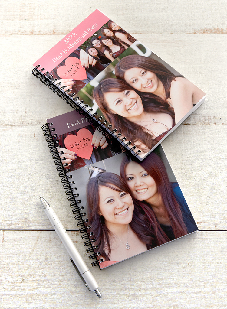 Shutterfly's spiral notebooks feature a variety of fun designs and layouts. Personalize a spiral notebook with your special photos.
