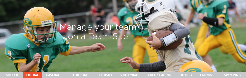 Free Sports Team Websites & Team Management for Youth Sports