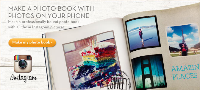 Make A Photo Book with Photos On Your Phone - Make my photo book