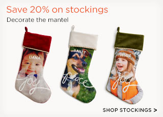 Save 20% on stockings