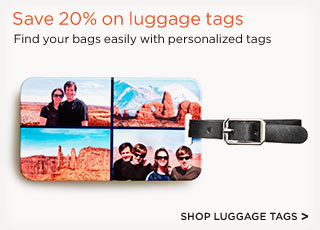 SHOP LUGGAGE TAGS >