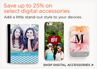 Save up to 25% on select digital accessories