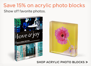 Shop Acrylic Photo Blocks