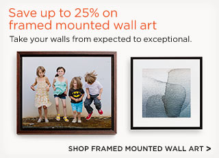 Shop Framed Mounted Wall Art