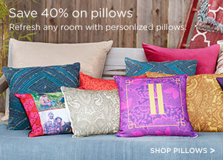 Save 40% on pillows
