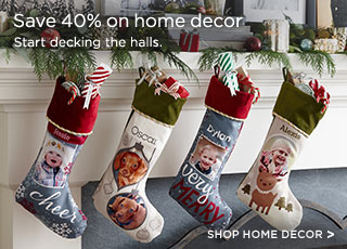 Save 40% on home decor - Shop Home Decor