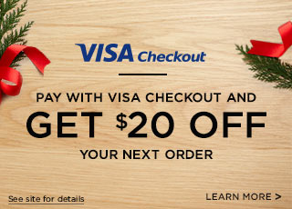 Pay With Visa Checkout Get $20 Off Your Next Order