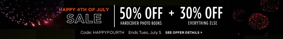Save 50% on hard cover books + 30% off everything border=