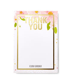 Thank You Cards Promo Code Joyful