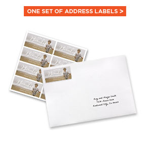 ONE SET OF ADDRESS LABELS