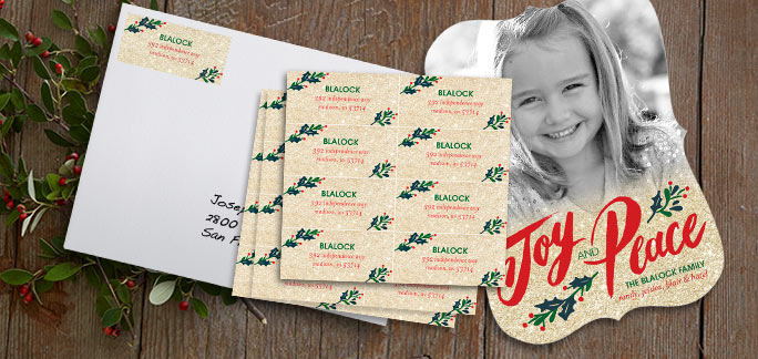 2 days only - ONE FREE SET OF ADDRESS LABELS* - GET YOUR FREE LABELS