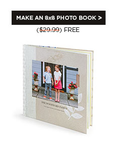 MAKE AN 8x8 PHOTO BOOK