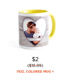 11OZ. COLORED MUG