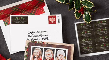 Shutterfly - 10 Free Cards + Free Set of Address Labels